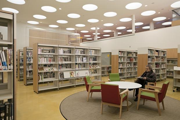 1 biblioteca Sant Ildefons