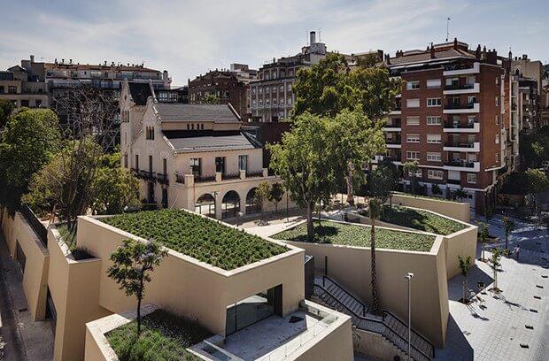 Sant gervasi joan maragall library by bcq arquitectura - Tanatori sant gervasi barcelona ...