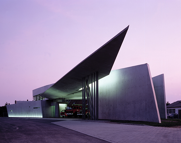 Vitra Fire Station, Weil am Rhein, Germany_photo Christian Richters